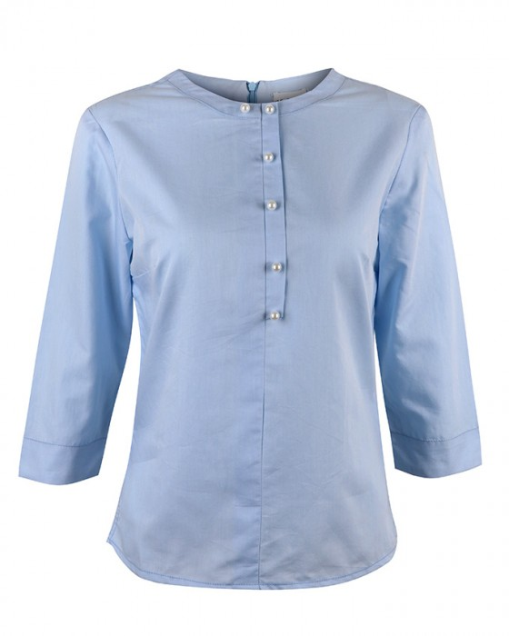 HaloGlow Polish Cotton Shirt