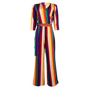 Multicolored jumpsuitfront